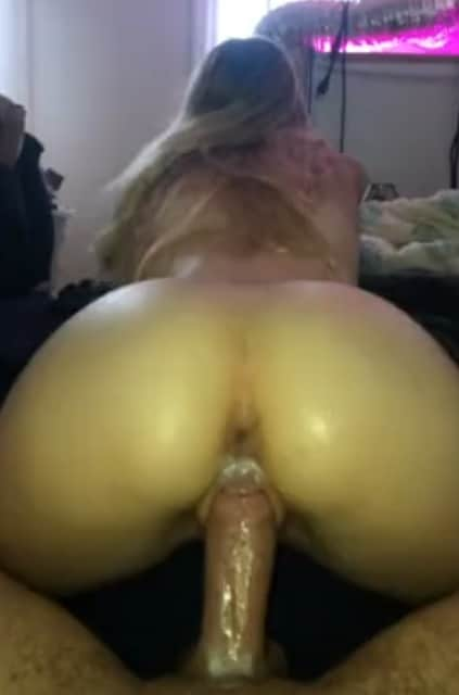 wet pussy reverse cowgirl with blonde girlfriend